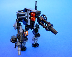 Quato Industries War Bot V2 (Cam M.) Tags: new robot war lego industries mech wepons quato