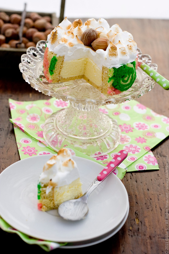 Db Challenge Biscuit Joconde Imprime And An Entremets Dessert