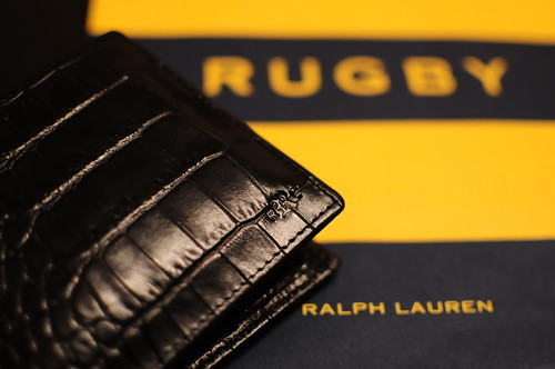 Rugby / Crocodile Wallet