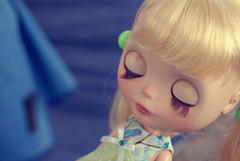 Mais de Luka (Bruna Lacrout ☆) Tags: green doll portoalegre plastic blond blythe custom encontro luka cílios sardas takaratomy pálpebras sonya230 thetravelingblythe déabrat cuthaircrisshida
