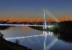 Мост Влюбленных – визитная карточка Тюмени и любимое место всех молодоженов
