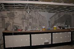 Bar Max (Borobros Bureau Creativo) Tags: borobrosbureaucreativo pintura mural color interior negocio decoracin farolas balcones