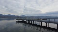 Reflections (darioseventy) Tags: reflection riflesso water acqua lake lago clouds nuvole mountains montagne mirror specchio