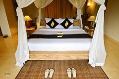 Bed setup (A. Wee) Tags: sankara resort hotel  ubud bali  indonesia  bedroom