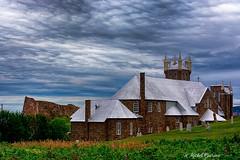 glise Saint-Michel (MichelGurin) Tags: 2016 august canada clouds exterior lightroomcc nature nikcollection nikon nikon2470mm nuages qc arbres aot glisesaintmichel t extrieur michelgurin qubec