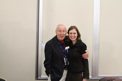 @SpaceKate with Jim Lovell