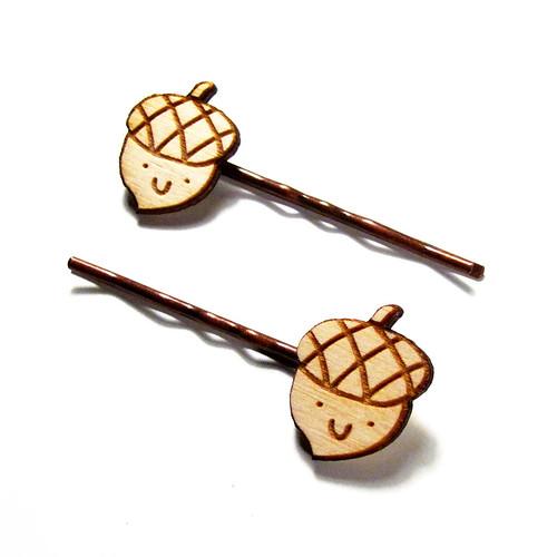 Acorn Hairpins 3