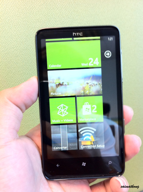 HTC HD7 - Microsoft's Windows Phone 7