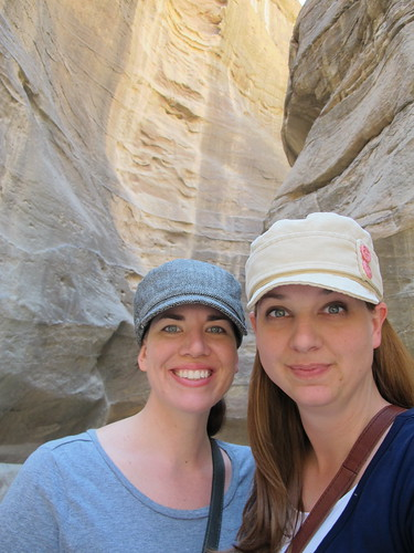 Erin and I in the canyon
