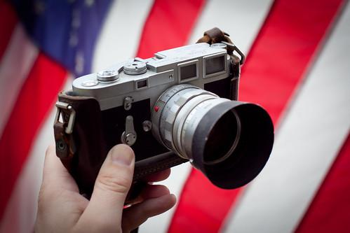 Dad's Leica M3