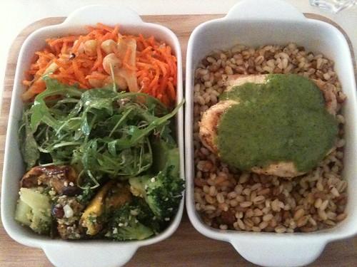 31 rue de Paradis: Bento poulet curry vert