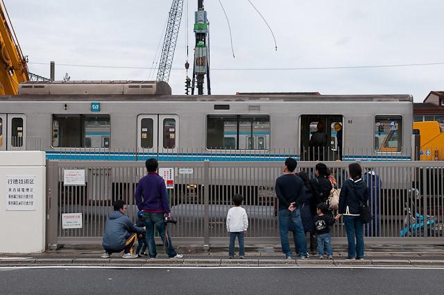 東京メトロ東西線05系05-110F 05-310 搬出