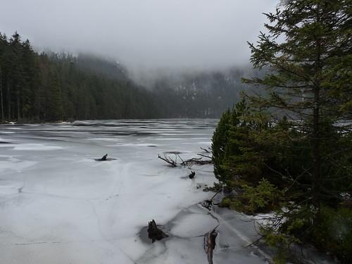 Černé jezero – Tak tichá silvestrovská voda