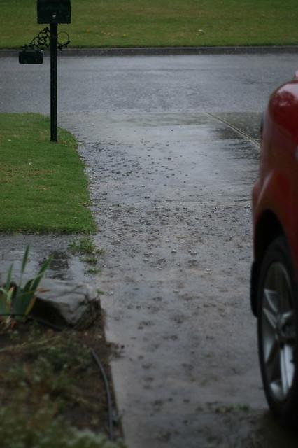 1st December rain