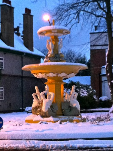 Westbourne Avenue fountain