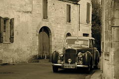 Old village, old car (sweatmanrory) Tags: labellefrance perigordmood frenchatmosphere