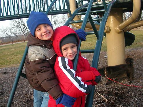 Nov 27 2010 Cal and Thomas