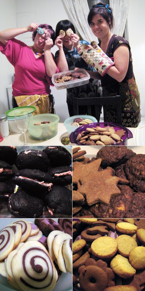 Les cuisinières et leurs biscuits de Noël