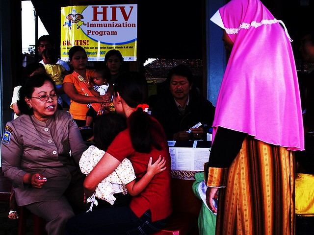 HIV immunization program