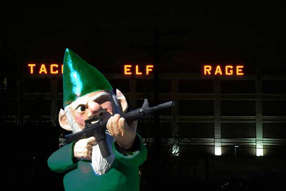 Tacoma Elf Rage!
