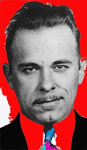 Johnny Depp John Dillinger Mugshot. 1930#39;s, John Dillinger,