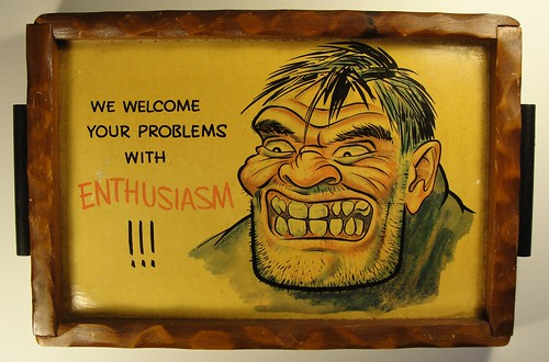 Welcoming All Problems - photo by zachtrek on Flickr