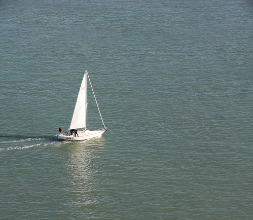 Sailboat in San Francisco Bay