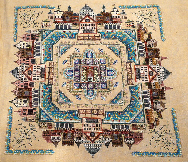 Medieval Town Mandala as of 120710