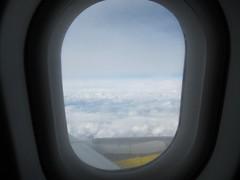 Ventana del avión