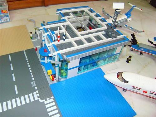 Moc Airport Lego Town Eurobricks Forums