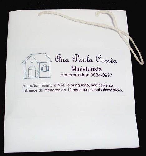 Cartão Ana Paula Corrêa