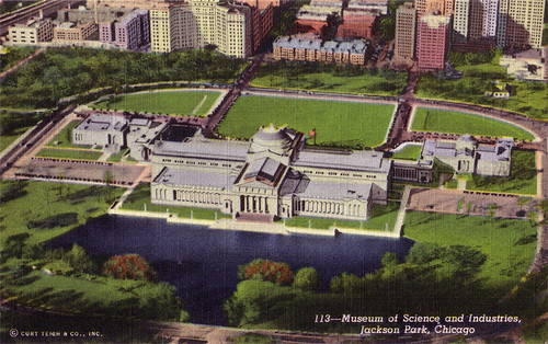 Museum of Science and Industries, Jackson Park, Chicago [113]