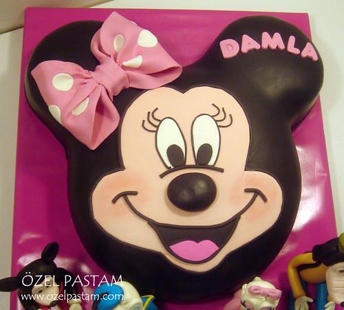 Damla'nın Mini Mouse Pastası / Mini Mouse Cake
