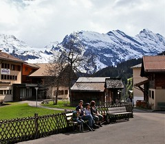 lovely family (Ji Wang) Tags: murren mountainvillage 1650m publiccarfree