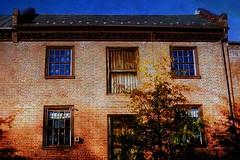 Old Town {texture:mottled} (krow10) Tags: color texture film 50mm virginia nikon fuji superia gimp textures va 400 fujifilm oldtownalexandria mottled ft2