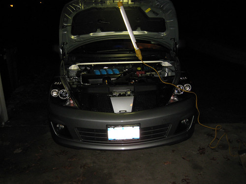 How to Remove Front Bumper/Install Projector Headlights