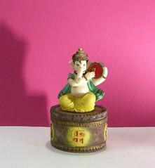 Ganesha 201 (ramakan) Tags: pink ganesha drum lord days 365 fibre pillayar vinayagar ganapathi
