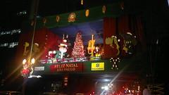Decoração de Natal. Av. Paulista