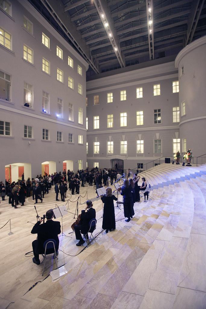 State Hermitage. Opening ceremony. Freezelight.ru Exhibition