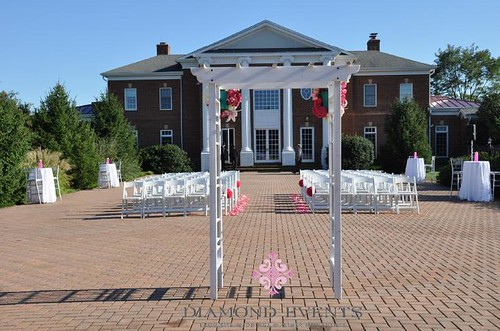 Rose Hill Manor Wedding Ceremony