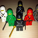 LEGO Collectible Minifigures Series 1 Ninja vs  Castle Ninja