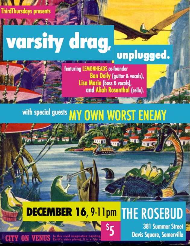 Varsity Drag, acoustic at the Rose Bud
