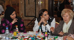 Discussing global issues at FIKR9 (Qatar Foundation International) Tags: dubai florida disneyland think science disneyworld conference service qatar soss fakker cultureexchange youthambassadors qfi summerofscienceandservice workshopshandson