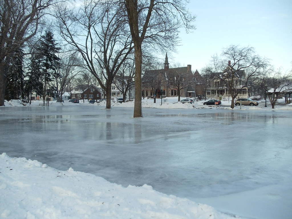 Commons Park, Outdoor Ice Rink, 15 Dec 2010