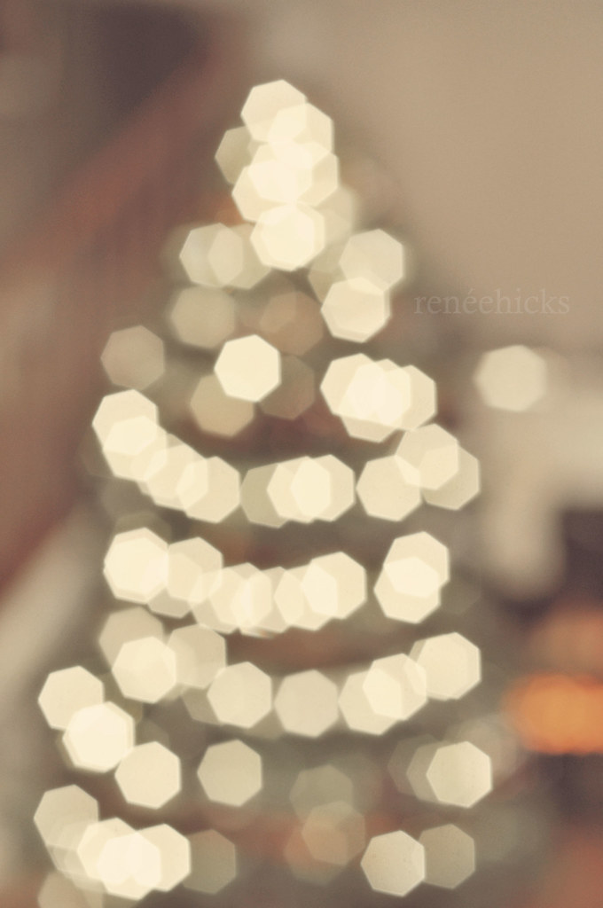 My First Christmas Tree Bokeh