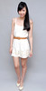HERVELVETVASE Eyelet Cut Out Frock (cream) $26 PTP 14-16 L 31.5