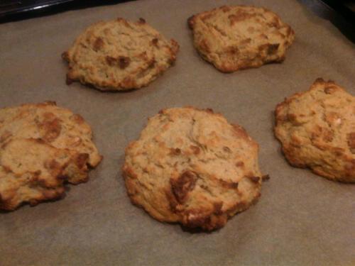 Parsnip cookies 1
