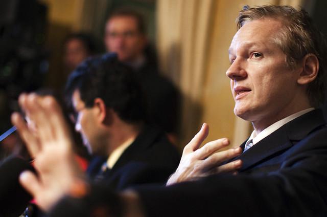 Julian Assange Wikileaks 2011