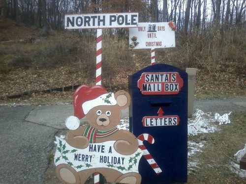 Santa's Mailbox In Our Town.