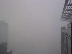 Canary Wharf Snow